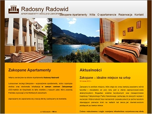 WillaRadowid.pl - apartament zakopane centrum